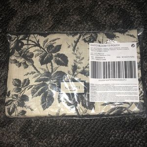 Authentic Gucci Bloom Cosmetic Bag